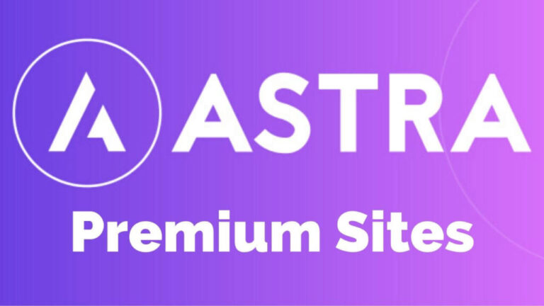 banner astra premium sites para web