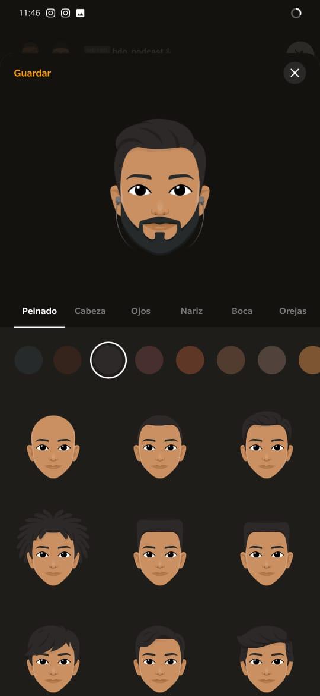 como crear un avatar en la app stereo